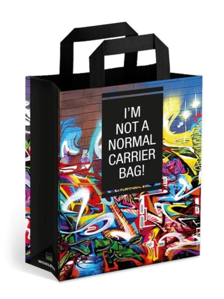 i am not a normal paper bag