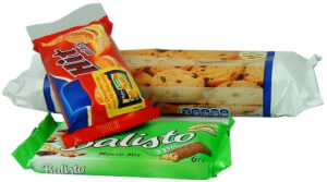 flow-wrap bakery products