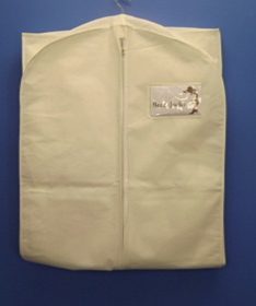garment bag folded