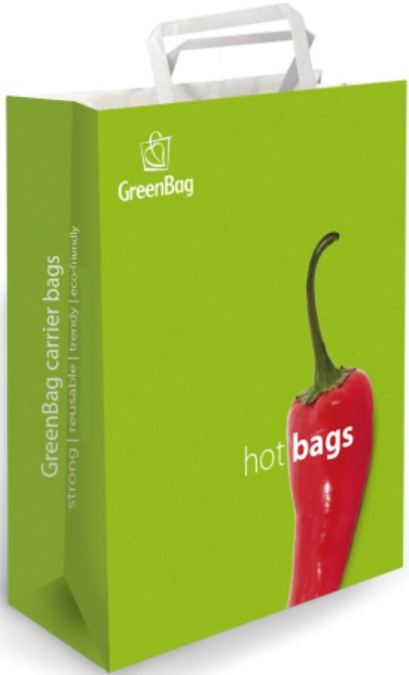 greenbag with peper