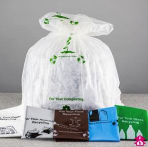 clear waste bag